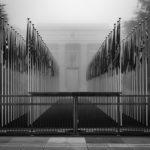 United Nations Closed Gate Geneva Switzerland